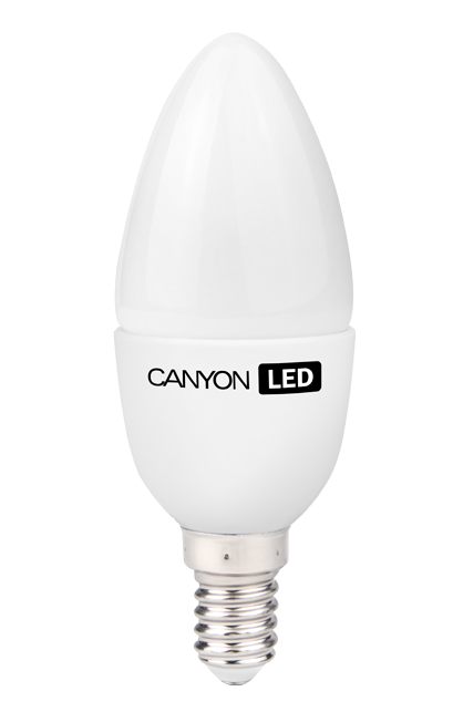CANYON LED B38 E14 6W 220V 2700K