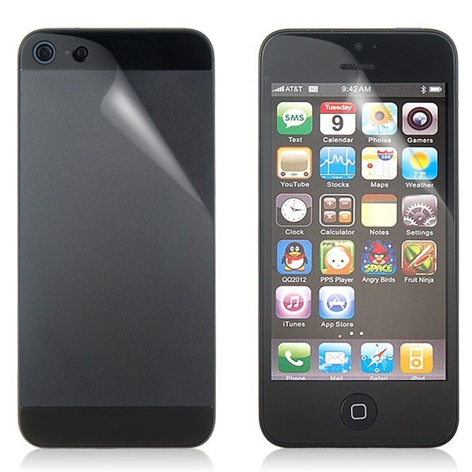 Протектор экрана UltraTough Clear ScreenGuardz для iPhone 5